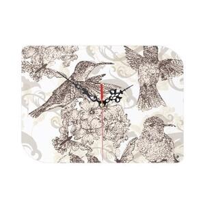 樹葉形掛牆鐘(可座枱)