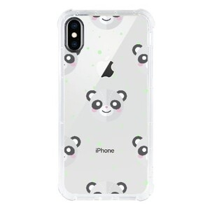 iPhone Xs 透明防撞殼(黑邊鏡頭)