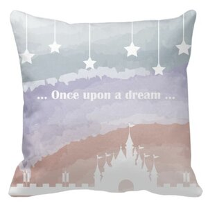 16x16吋细毛绒抱枕<Once upon a dream>