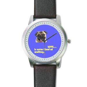 經典款手錶 Pug 八哥
