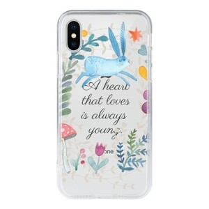 iPhone X Tempered Glass Transparent Case