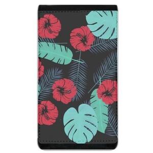 Tropical Lanyard Phone Case Wallet