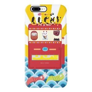 幸运老虎机iPhone 8 Plus TPU Dual Layer Protective Case