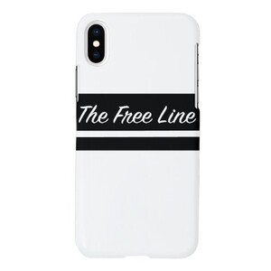 The free line theme iPhone Xs Matt Case
