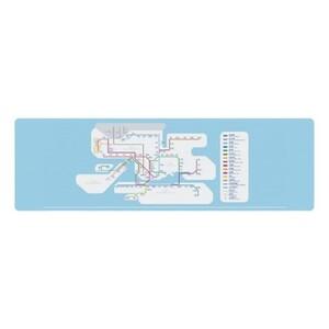 MTR 港鐵線路圖Cooling Towel