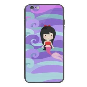 Magic Mermaid iPhone 6/6s Plus Slim Case(Black frame)
