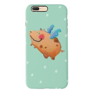 A flying pig iPhone 7 Plus TPU Dual Layer Protective Case
