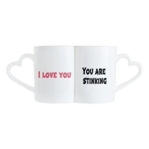 愛情滿點情侶杯