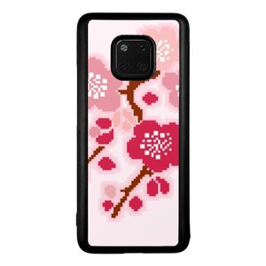 Huawei Mate 20 Pro Bumper Case Flower Design