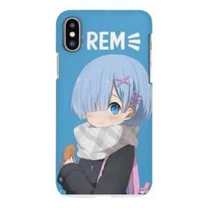 iPhone X Matt Case Rem