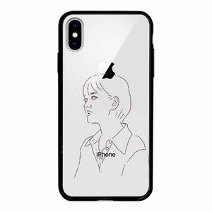 iPhone Xs Transparent Bumper Case