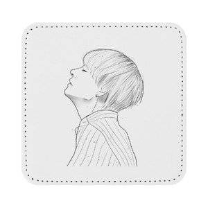 Square Leather Coaster