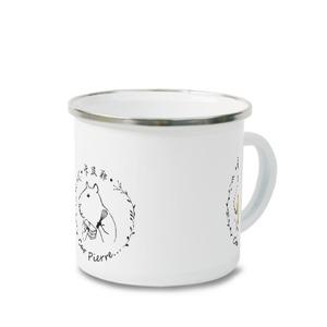 卡皮耶carpierre...搪瓷杯