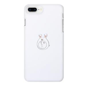 Boy in a rabbit hat 兔子帽男子困擾臉iPhone 8 Plus Matte Case