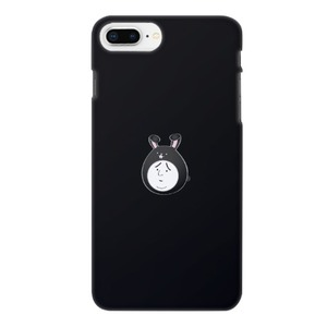 Boy in a rabbit hat 兔子帽男子困擾臉(黑)iPhone 8 Plus Matte Case