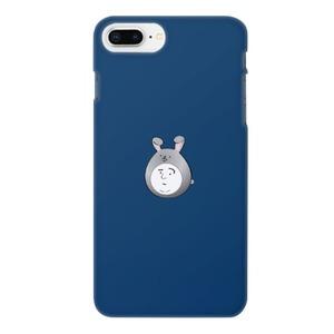 Boy in a rabbit hat 兔子帽男子困擾臉(藍)iPhone 8 Plus Matte Case
