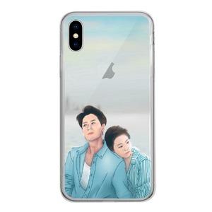 iPhone Xs [情人]鋼化玻璃透明殼 / iPhone Xs Tempered Glass Transparent Case