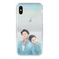 iPhone X [情人]鋼化玻璃透明殼 / iPhone X Tempered Glass Transparent Case
