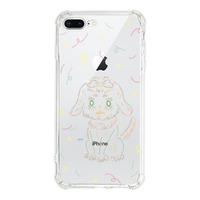 iPhone 8 Plus Transparent Bumper Case(Fully transparent)