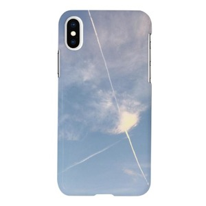 Sky-iPhone Xs Glossy Case