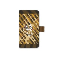 iPhone 8 Leather Case brainsmall cat