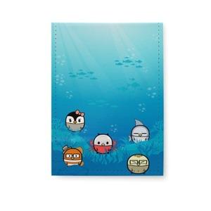 海底世界-扭蛋雞-折叠镜 5''x 7''