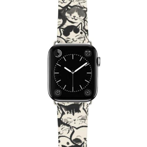 Apple Watch 皮革手錶帶  (38mm/40mm)
