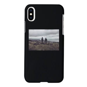 iPhone Xs View Capture Glossy Case in Black