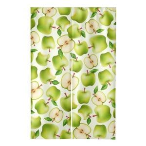 """Granny Smith apple (pattern) Door Curtain 47"""" x 31"""""""