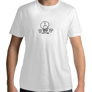 Men 's Cotton T - shirt_男裝短袖T恤_de-robot