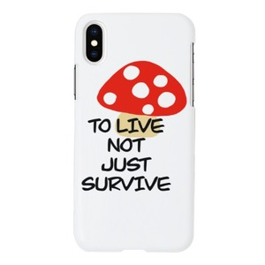 TO LIVE - iPhone Xs Matt Case