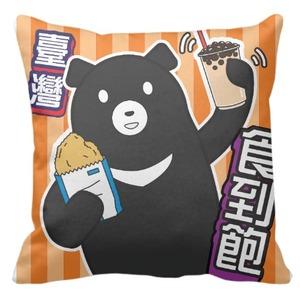 愛台灣 - 16 x 16吋 台灣黑熊抱枕