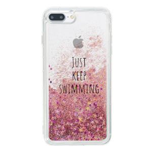 iPhone 8 Plus Liquid Glitter Case