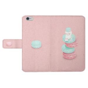 YUZ Design 粉色貓卡龍iPhone 6/6s手機保護皮套  iPhone 6/6s Leather Case