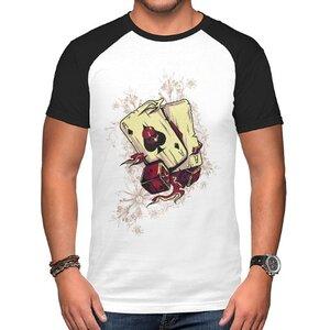 TS-085-01 男裝棉質插肩圓領T恤