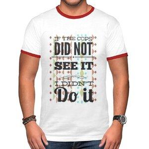 TS-188-01 男裝棉質彩邊圓領T恤