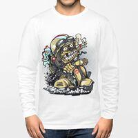 TS-241-01 男裝棉質圓領長袖T恤