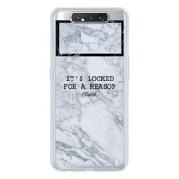 Samsung Galaxy A80 Transparent Slim Case