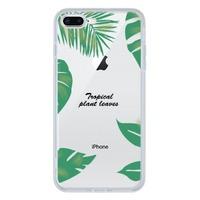iPhone 7 Plus Tempered Glass Transparent Case