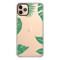 iPhone 11 Pro Max Transparent Bumper Case(Black aperture )