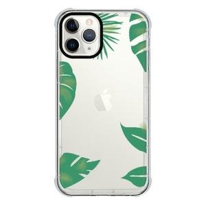 iPhone 11 Pro Transparent Bumper Case(Black aperture )