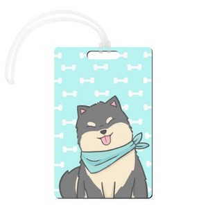 Rectangle Shaped Luggage Tag