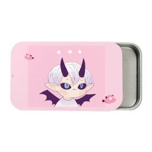 【Gill  Feirer】Pink Feirer Metal Slide Top Tin