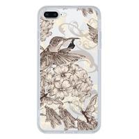 iPhone 8 Plus Tempered Glass Transparent Case