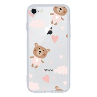 iPhone 7 Tempered Glass Transparent Case