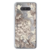 LG V40 ThinQ Transparent Slim Case
