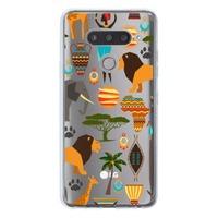 LG V40 ThinQ Transparent Slim Case