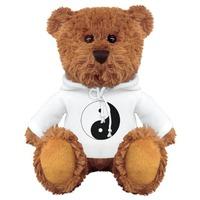 Hoodie Ying Yang Teddy Bear Stuffed Animal