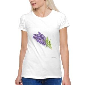 Women's lavender T - shirt