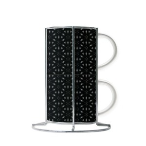 Kettukas #1 Cup Set with Metal Stand (2 Cups)